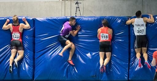NM i friidrett innendørs 2018 i Bærum Idrettspark