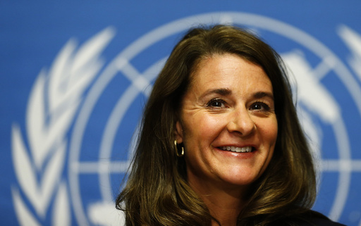 Gates, Co-chair of the Bill & Melinda Gates Foundation, smiles during a news conference before her address to the 67th World Health Assembly in Geneva