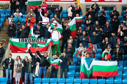 Bulgaria forbyr tilskuere på stadion etter nye tilfeller av koronasmitte. Foto: Lise Åserud / NTB scanpix