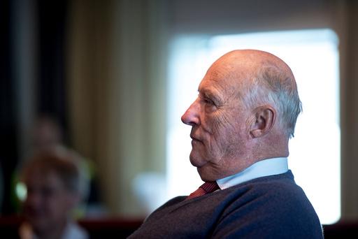 H.M. Kongen besøker Troll A feltet utenfor Bergen i forbindelse med olje og gassindustriens 50 årsmarkering.