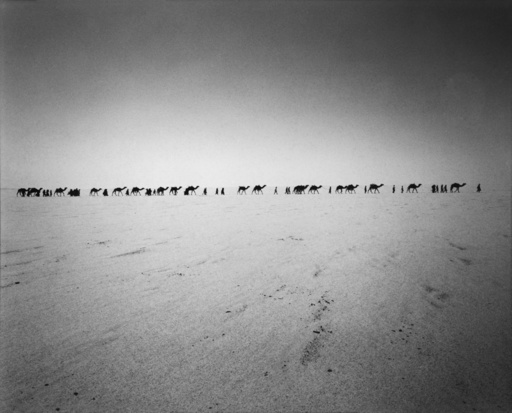 NIGER. On the set of La captive du desert, a film by Raymond DEPARDON.1982.