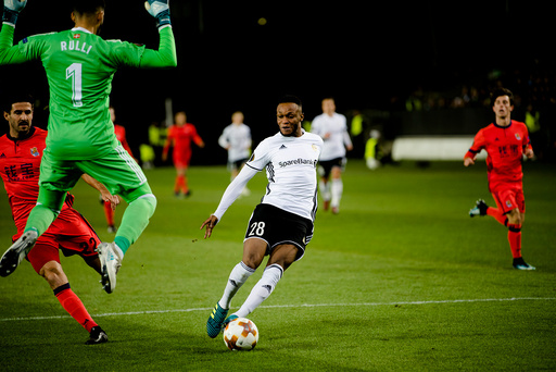 Europa League play-off 2017: Rosenborg-Real Sociedad (0-1).