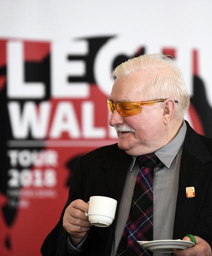 DENMARK Lech Walesa