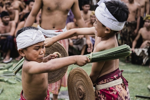 Pandanus Fight Ritual in Tenganan