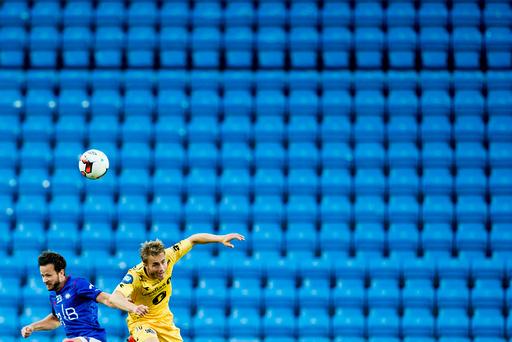 Eliteserien fotball 2016: Vålerenga-Bodø/Glimt (1-1).