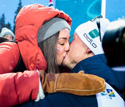 VM skiskyting 2019. Stafett menn.