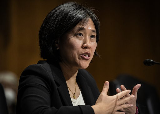Katherine Tai, som er nominert til USAs nye handelsrepresentant. Foto: Bill O'Leary / The Washington Post via AP / NTB