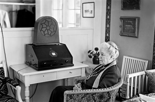 Selma Lagerlöf hemma på Mårbacka 1933