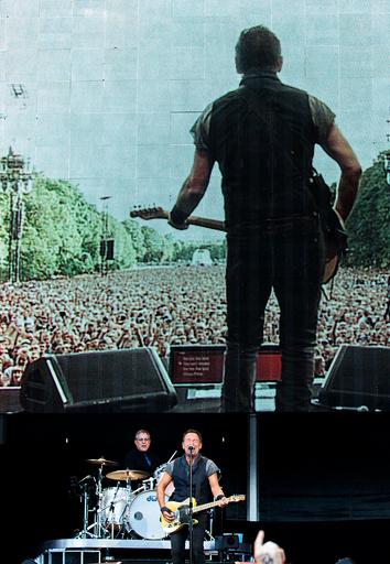 Konsert med Bruce Springsteen & The E Street Band i Frognerparken.