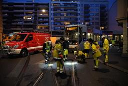 Alt gikk ikke på skinner i Oslo fredag morgen. Foto: Ole Berg-Rusten / NTB