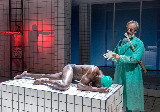 Pressevisning for forestillingen Renset på Hovedscenen på Nationaltheatret mandag.