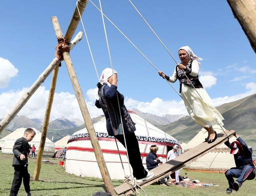 World Nomad Games in Cholpon-Ata