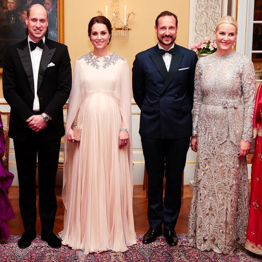 Prins William og hertuginne Catherine av Cambridge på offisielt besøk i Norge.