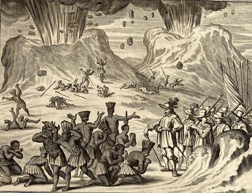 Popocatepetl and Aztec conquest, 1520s