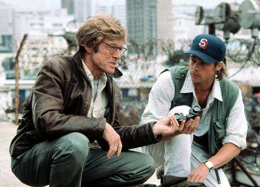 SPY GAME, Robert Redford, Brad Pitt, 2001