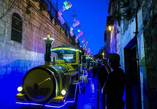 Festival of Light in Old City of Jerusalem