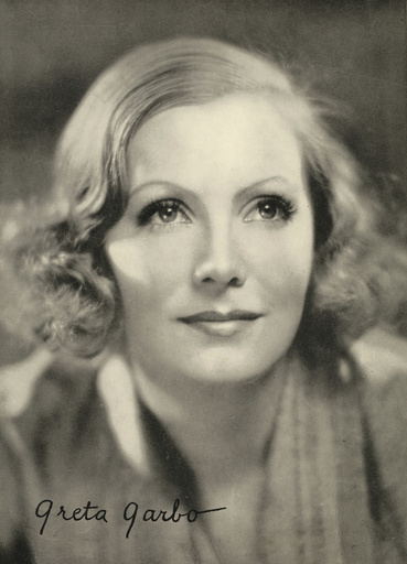 GRETA GARBO PICTURE FROM THE RONALD GRANT ARCHIVE