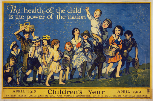 The health of the child is the power of the nation Children'