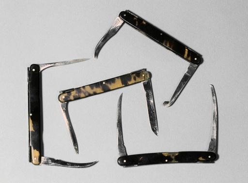 Bistoury knives, circa 1850