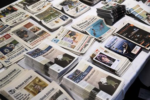 Krisepakken til norske mediebedrifter har fått godkjentstempel av ESA.  Foto: Berit Roald / NTB scanpix