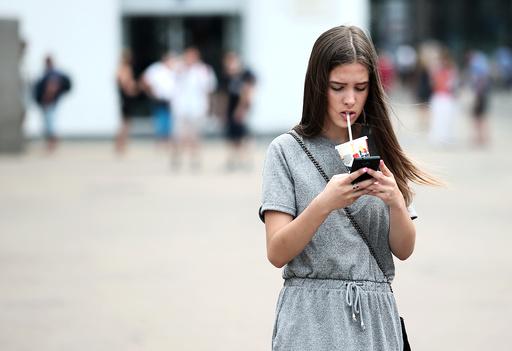 Smartphone stock