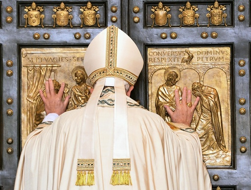 Jubilee of Mercy: opening of the Holy Door of Saint Peter's Basilica