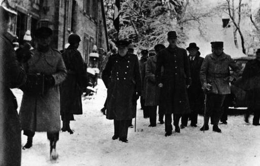 Churchill u. de Gaulle/Frontbesuch 1944 - Churchill & de Gaulle/Visit t.front 1944 - Churchill et de Gaulle/Visite front 1944