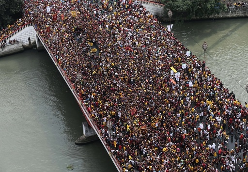 Feast of the Black Nazarene in Manila