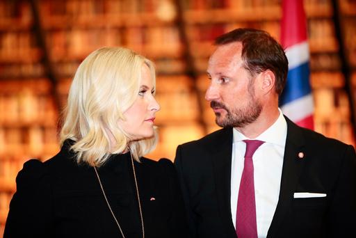 Kronprins Haakon og kronprinsesse Mette-Marit besøker Latvia.
