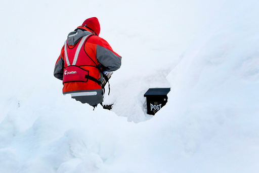 Snø i Tromsø