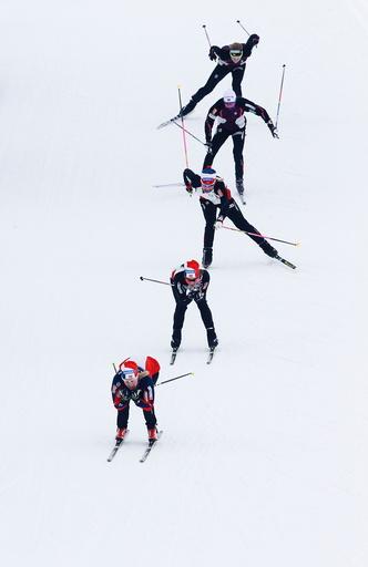 Skilandslaget gjør forberedelser på Sjusjøen foran VM på ski.