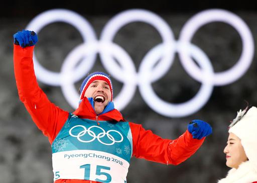 Vinter-OL. Olympiske leker i Pyeongchang 2018. Skiskyting menn