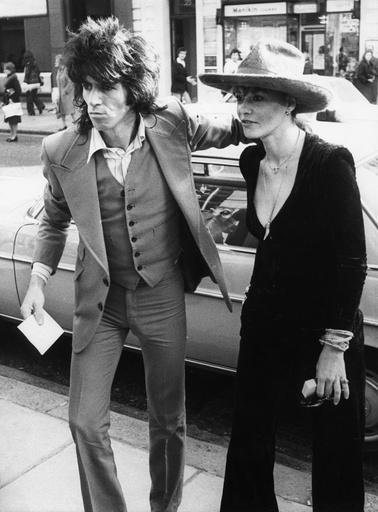 Keith Richards and Anita Pallenberg, 30th April 1976.