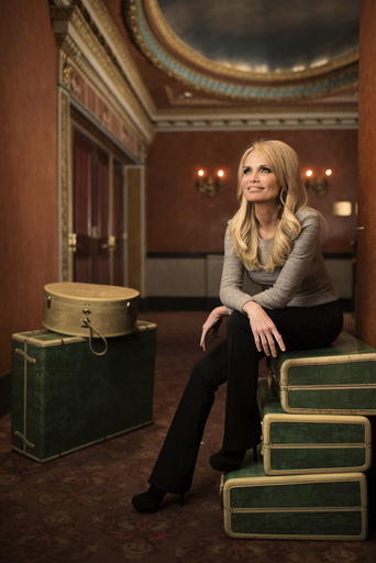 Kristin Chenoweth, who returns to Broadway in the musical