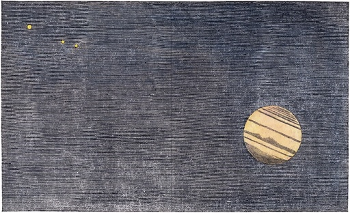 Jupiter and satellites, 1843