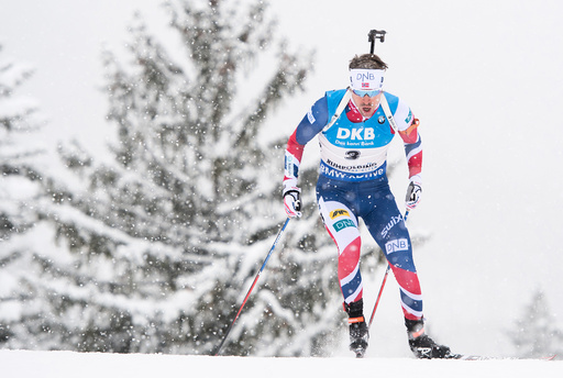 Biathlon World Cup in Ruhpolding - Men's Pursuit