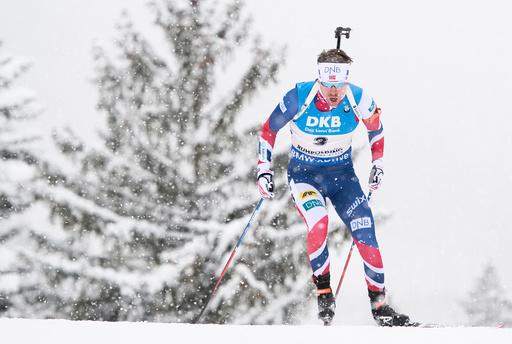 Biathlon World Cup in Ruhpolding - Men's Pursuit
