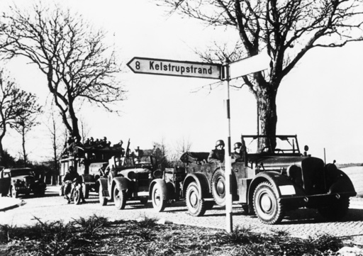 Dt.Truppen in Dänemark 1940 - German troops in Denmark / 1940 -