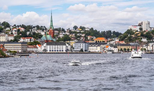 Arendal har opplevd et voksende smitteutbrudd de siste dagene.  Foto: Halvard Alvik / NTB