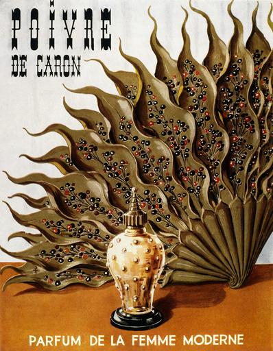Poster design for Poivre de Caron perfume
