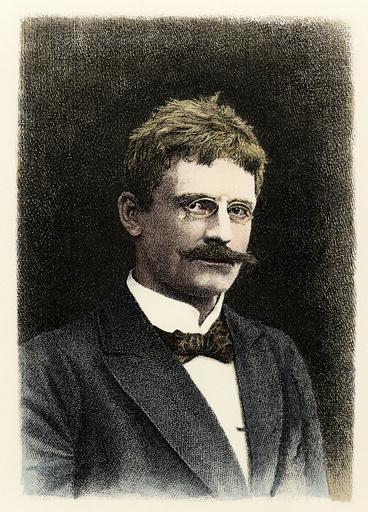 Knut Hamsun / Lindner - Knut Hamsun / Etch.by Lindner / 1902 -