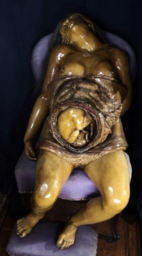 Pregnancy model, 18th century