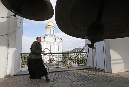 Religious procession in memory of Grand Dushess St. Yelizaveta Fiodorovna