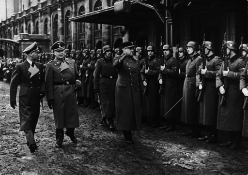 Quisling / Besuch in Berlin 1942 / Foto - Quisling / Visit to Berlin 1942 / Photo - Quisling / Visite à Berlin 1942 / Photo