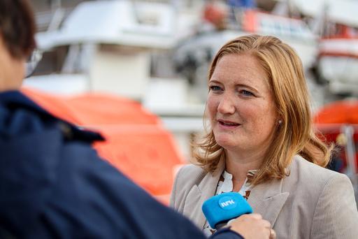 Bodø-ordfører Ida Maria Pinnerød (Ap) er kritisk til at det ikke kan gjøres unntak fra nasjonale koronatiltak. Foto: Sondre Skjelvik / NTB