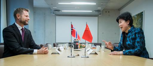 Kinas visehelseminister Cui Li i Norge