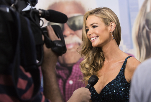 Cast member Denise Richards arrives for the New York premiere of Tyler Perry's