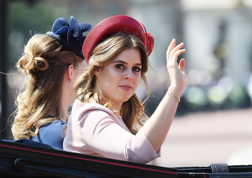 Royal family seen leaving Buckingham Palace for Trooping The Colour event in London