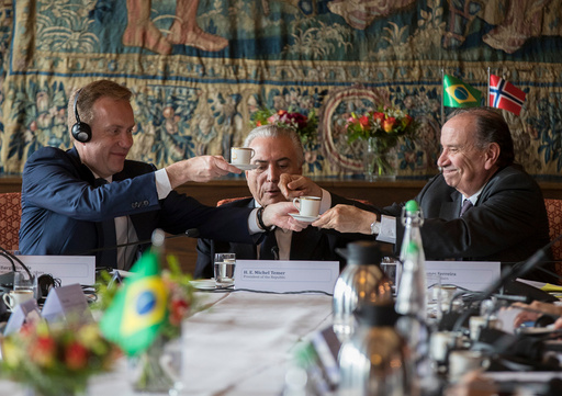 Brasils president Michel Temer.