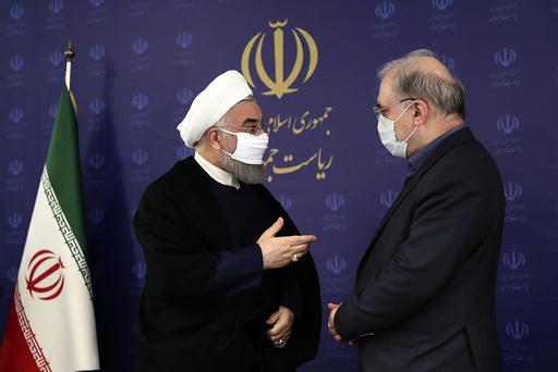 Irans president har valgt å forby bryllup og begravelser etter at landet den siste uken har registrert over 250 nye koronarelaterte dødsfall og 5.200 covid-19 smittetilfeller. Foto: AP / NTB